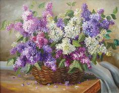Lilac, artist Ivanov Vladimir