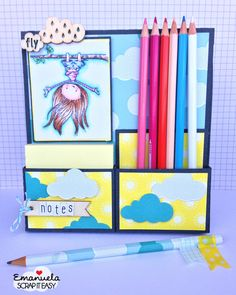 porta post e matite