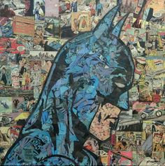 Batman | 11  Nerdy Comics Collages You Have To Really Look At