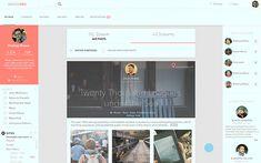 Public Page by Sergey Valiukh, via Behance