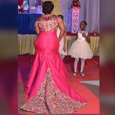 Instagram photo by evecollections - ❤️❤️❤️ the back view of Bahati Nicholas dress. Credit pics @salehe05 .