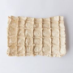 Håndlaget papir med firkanter