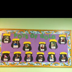 March bulletin boards