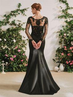 The Gothic Diva Black Wedding Dress – Goth Mall Black Wedding Dresses, Bridal Dresses, Wedding Gowns, Bridesmaid Dresses, Black Satin Dress, Satin Dresses, Satin Skirt, Belle Silhouette, Mermaid Silhouette