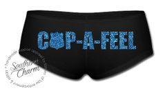 Cop-A-Feel Boyshorts - Southern Charm Designs