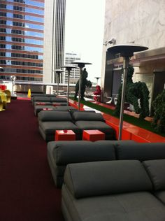 The Standard, Downtown LA. Easily the hippest hotel on the east side.