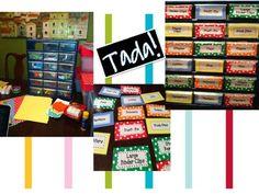 TEACHER'S TOOL BOX LABELS - TeachersPayTeachers.com