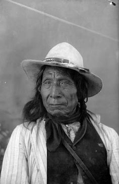 Red Cloud - Oglala - 1891 {Note: It is said that Red Cloud received his name because a red comet traveled through the sky in the year he was born, in 1822.}