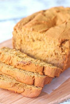Gluten Free Pumpkin Bread - easy, moist and delicious, this pumpkin bread is dairy free and refined sugar free. It's also delicious!