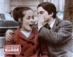 Antoine Doinel et CHristine Darbon (Jean-Pierre Léaud et Claude Jade) dans Baisers volés de François Truffaut  (1968)