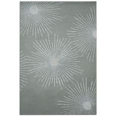 @Overstock - Rug's chic designs will instantly transform your home into an elegant abode. Contemporary rug features a modern art deco burst design.http://www.overstock.com/Home-Garden/Safavieh-Handmade-Soho-Burst-Grey-New-Zealand-Wool-Rug/7432762/product.html?CID=214117 $474 for 8 x 11