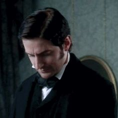 Richard Armitage as John Thornton in North and South, 2004 (GIF set) Elizabeth Gaskell, Richard Armitage, Best Love Stories, Love Story, North And South, John Thornton, Look Back At Me, Mr Darcy, Pride And Prejudice