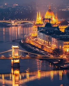 Budapest, Hungary ~ Hidden World Wonders Budapest Nightlife, Budapest Travel, Budapest City, Wonderful Places, Beautiful Places, Beautiful Pictures, Wonderful Life, Amazing Photos, Places Around The World