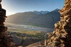 View from Yamchun Fort - Tajikistan