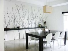 white dining room painting How to choose your house colors successfully? house colors white-dining-room-painting-444x333
