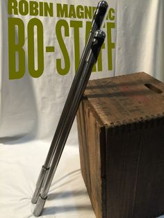 Robin's magnetic separate-able steel bo staff