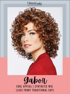 Glorious well-behaved curls – the kind you've always wished for – can be styled in smooth spirals or fluffed for a softer, fuller effect.#hairstyles #hairdo #hairoftheday #styleinspo #styles Messy Bob Hairstyles, Undercut Hairstyles, Summer Hairstyles, Diy Hairstyles, Trending Hairstyles, Curly Hair With Bangs, Short Curly Hair, Short Hair Cuts, Curly Hair Styles