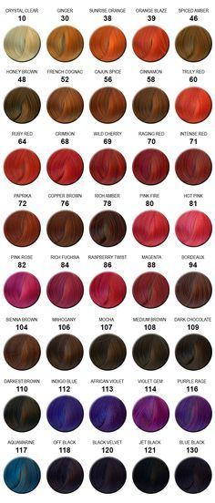 Adore hair color chart hair pinterest hair coloring hair