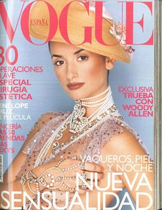 6b74da9a6cd54 Portada vogue febrero 2000 Febrero, Portadas, Vogue España, Estilo, Revistas,  John