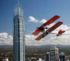 Day 12 of our 30 Days of Father's Day could see Dad taking part in a heart-pumping aerobatic flight in the Gold Coast.