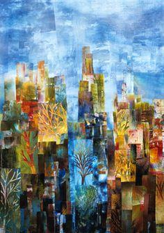 Central Park West - Dawn - Linda Levin