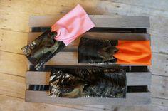Mossy Oak Break Up Camo U PICK COLOR Orange by PinkPearBoutique