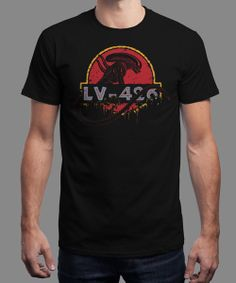"""LV-426"" is today's £8/€10/$12 tee for 24 hours only on www.Qwertee.com Pin this for a chance to win a FREE TEE this weekend. Follow us on pinterest.com/qwertee for a second! Thanks:)"