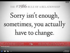 Red flag alert: constantly apologizing but nothing changes.....nothing will change because he thinks apologizing solves everything when actually it gets to the point his apology no longer holds any meaning....but just a word.