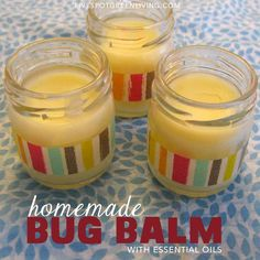 Bug Balm Ointment with Tea Tree Essential Oils -