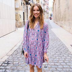 Printed dress - TRINE'S WARDROBE