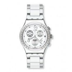 reloj swatch dreamwhite uac