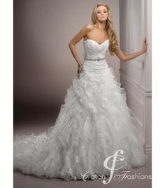 Pat catans Maggie Sottero Bridal Gown Collection