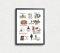 Life By The Numbers Art Print