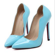 Ladies Sexy Red Bottom High Heels Fashion Leather Pointed Toe Stiletto Heel Women Pumps Neon Color Party Wedding Shoes Woman     Tag a friend who would love this!     FREE Shipping Worldwide     Get it here ---> http://ebonyemporium.com/products/ladies-sexy-red-bottom-high-heels-fashion-leather-pointed-toe-stiletto-heel-women-pumps-neon-color-party-wedding-shoes-woman/    #stylish_clothes