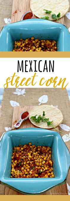 This side dish truly is INSANELY DELICIOUS! The flavors of grilled corn, chili power, cotija cheese and cilantro will blow you away! TablerPartyofTwo.com