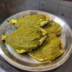 Cooking made Sexy: Pomfret Green Masala. Masala Fish Recipes, Indian Prawn Recipes, Goan Recipes, Curry Recipes, Seafood Recipes, Vegetarian Recipes, Lamb Recipes, Chicken Recipes, Pomfret Fish Recipe Indian