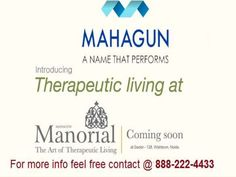Mahagun Manorial Sector 128 Noida - for Confirm Deal Call 888-222-4433 The private properties in Noida have been seeing a gigantic development. With the surge in cost of private pads, land speculations has ended up being compensating for some and accordingly, it clears path for an incredible interest of such foundations in Noida. The purchasers are paying special mind to private condo either for speculation purposes or professionally.