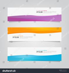 Vector Abstract Banner Design Web Template Stock Vector (Royalty Free) 1295643742
