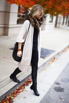 Streetstyle inspiratie: 50x de cardigan - Mode - Streetstyle - Style Today