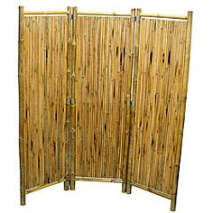 Overstock.com is proud to donate all profits from Worldstock Fair Trade purchases to Charity. Shop Worldstock for everyday discount prices and everyday free shipping over $50*. Save on Handcrafted Bamboo 3-panel Stick Screen (Vietnam)