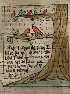 hymn and bird art