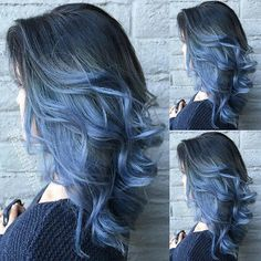 Red and Black Hair: Ombre, Balayage & Highlights - Style My Hairs Ombre Hair Color, Cool Hair Color, Dyed Hair Ombre, Bantu Knot Out, Blue Wig, Purple Wig, Ombre Wigs, Goddess Braids, Flat Twist