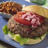 Vegetarian Black Bean Burgers with Cornmeal