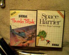 Sega Master System Game Lot (phantasy star)(rambo)(Lord of the sword)