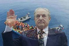 """George Soros: Portrait of a Psychopath - According to Soros, Russia's strategy is to """"avoid collapse by making the EU implode first – by exacerbating the migration crisis and stoking Islamophobia"""". George Soros, Douglas Murray, Migration Crisis, Custom Built Homes, Mount Rushmore, Georgia, Portrait, World, Youtube"""