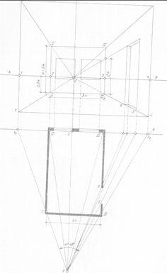 Аксонометрия и перспектива комнаты Interior Design Process, Interior Design Sketches, Sketch Design, Perspective Drawing Lessons, Perspective Art, Structural Drawing, Technical Drawing, Architecture Symbols, Drawing Furniture