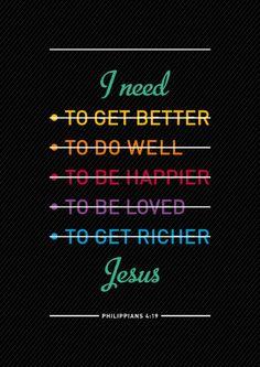 J'ai besoin...