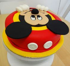 Mickey Mouse — Disney Themed Cakes