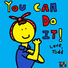 { Love Todd Parr Artwork and books } Happy Labor Day! Love, Todd
