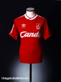 dd5542b03 1989-1990 Liverpool home jersey  beuty Liverpool Home